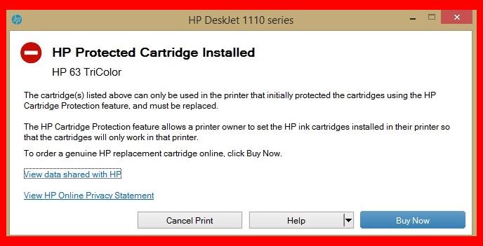 HP-protected-cartridge-error